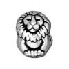 Bead Lion Euro Bead 11mm Antique Silver